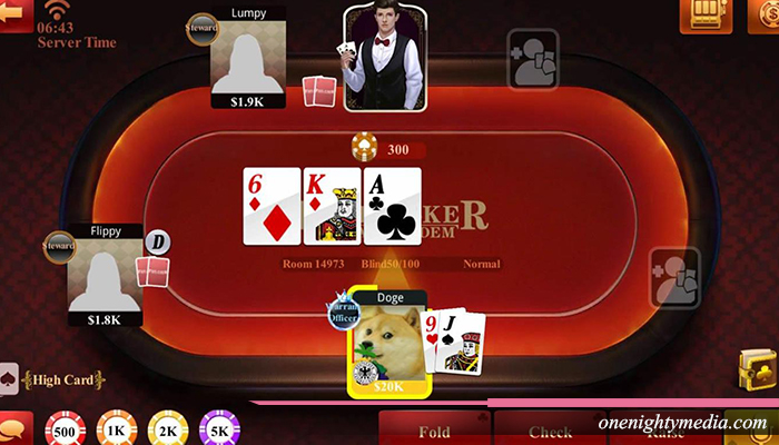 Peraturan Poker Texas Holdem